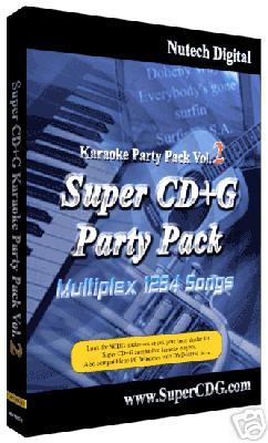 Super CD+G  Multiplex 1234 Songs