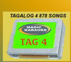 900 Songs in English & Tagalog
