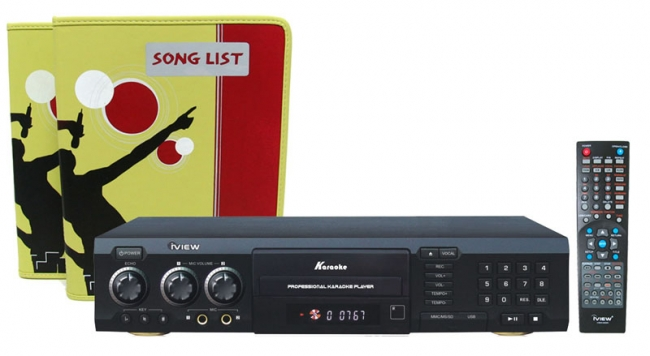 All Region Karaoke DVD Player with over 49,033 Songs in Two Midi DVD Disks