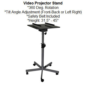 Video Projector Stand