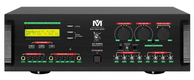 900Watts CPU Integrated Mixing Amplifier