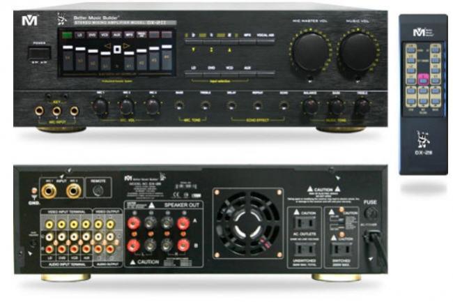 DX-211/DX-2II Mixing Amplifier