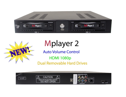 Mplayer 2 PRO KARAOKE with 4 TB hard drive 22K Latest SONGS (15K Vietnamese and 7K Eng)