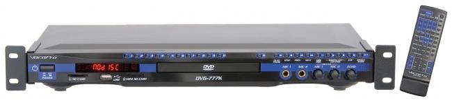 USB/DVD/CD+G Build-in SD card & Mini SD card Reader