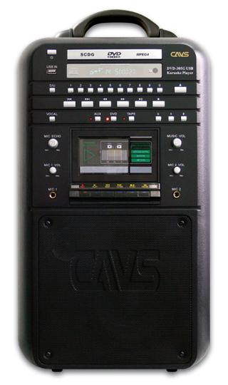 Super CDG 70 Watt RMS All-In-One Portable Karaoke Machine