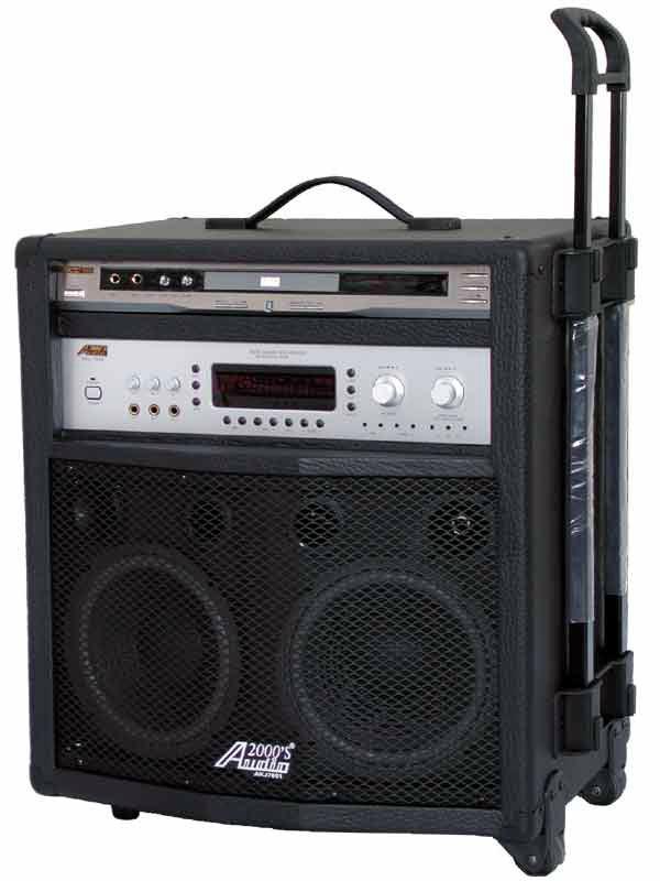 All-In-One Karaoke System with Digital Key Control & Echo. 300Watt.