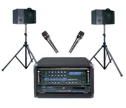 ProKJ-380 200W Digital Key Control Multi-Format Karaoke System