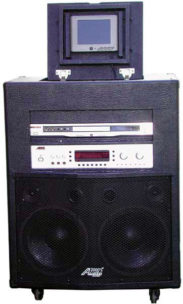 Audio 2000 AKJ 7804 Singer's Power IV All-In-One Karaoke System w/ 6
