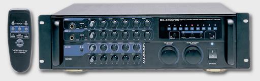 200Watts with 9-step Digital Key Control.Digital Karaoke Mixing Amplifier.