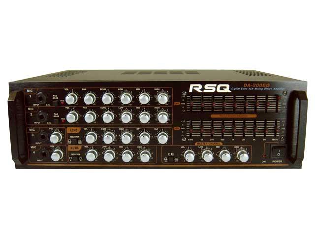 600Watts Mixing Amplifier, 4 Mic, Individual Volume Control & Echo