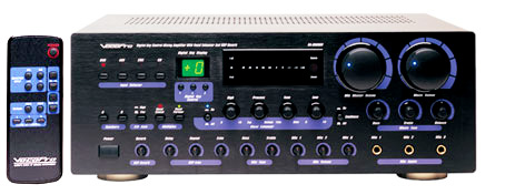 DA-8909RV, 360W Digital Karaoke Amplifier Mixer with Vocal Enhancer and DSP Reverb